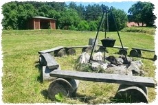 Agroturystyka ognisko grill