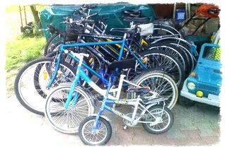 Agroturystyka dla dzieci rowery