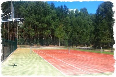 Korty tenisowe dla dzieci i dorosłych