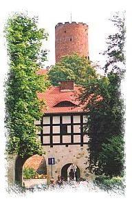 Atrakcje turystyczne ziemi lubuskiej Zamek Joanitów w Łagowie