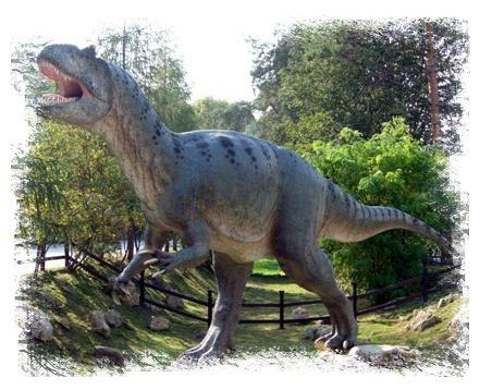 Park Dinozaurów Nowiny Wielkie Lubuskie atrakcje