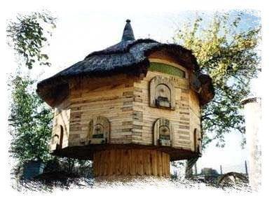 Pszczewski Park Krajobrazowy - skansen pszczelarstwa