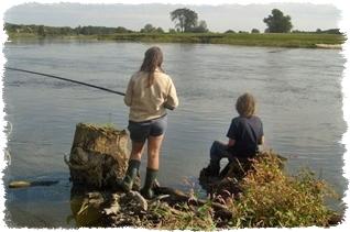 Agroturystyka dla dzieci na ryby